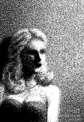 The Actress  Art Print by Dan Lockaby