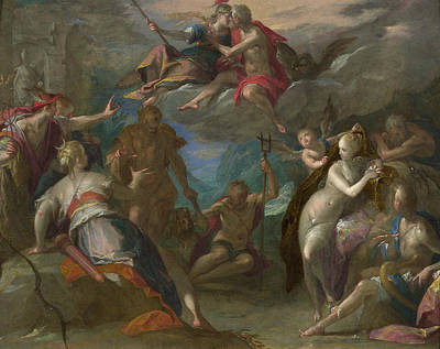 Painting - The Amazement Of The Gods by Hans von Aachen