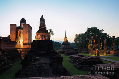 Photograph - The Ancient Temple by Atiketta Sangasaeng