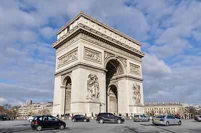 Photograph - The Arc De Triomphe In Paris by Dutourdumonde Photography