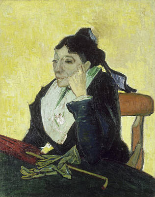 Seat Painting - The Arlesienne by Vincent van Gogh