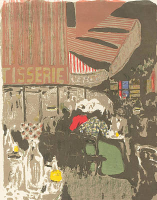 Relief - The Bakery by Edouard Vuillard