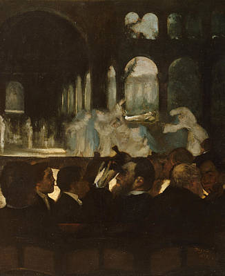 Painting - The Ballet From Robert Le Diable by Edgar Degas