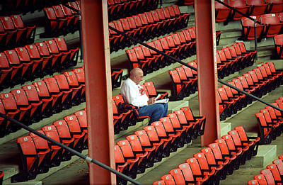 Photograph - The Baseball Fan II by Frank Romeo