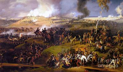 The Battle Of Borodino  Art Print by Louis Lejeune