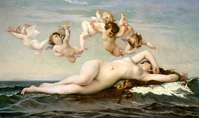Painting - The Birth Of Venus by Alexandre Cabanel