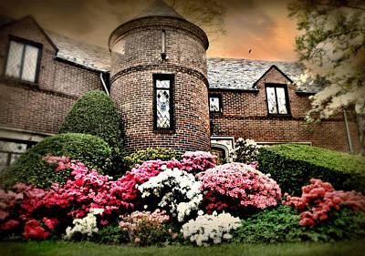 Photograph - The Brick Turret by Diana Angstadt