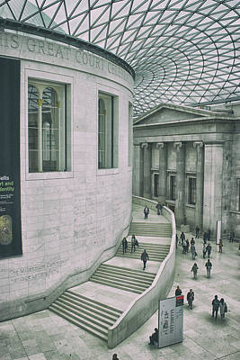 Artifacts Photograph - The British Museum by Martin Newman