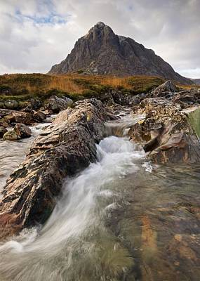 Photograph - The Buachaille by Stephen Taylor