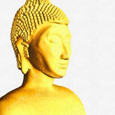 New Culture Painting - The Buddha By Pierre Blanchard by Pierre Blanchard