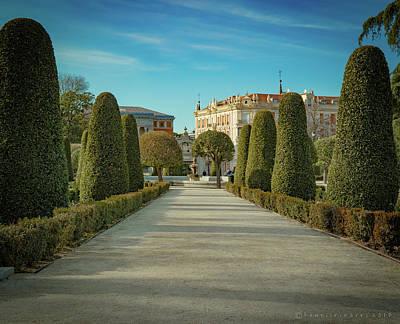 Photograph - The Buen Retiro Park by Henri Irizarri