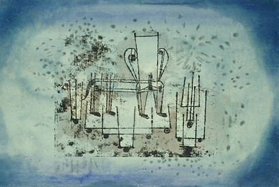 Paul Drawing - The Chair-animal by Paul Klee