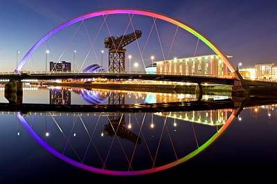 Photograph - The Clyde Arc by Stephen Taylor