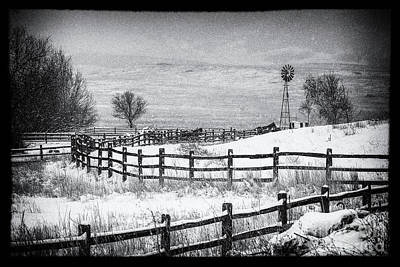 Photograph - The Corral by Jim Garrison