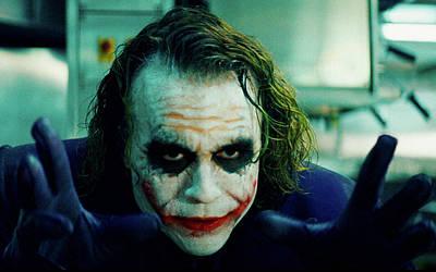 Heath Ledger Digital Art - The Dark Knight by Alice Kent