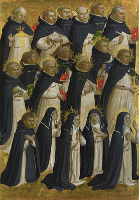 Digital Art - The Dominican Blessed by Fra Angelico