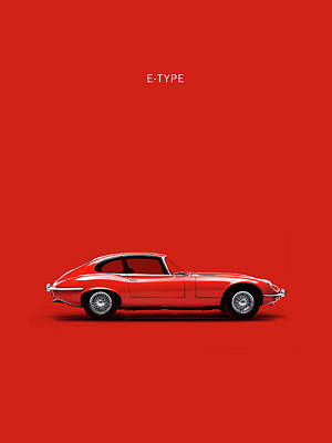 Photograph - The E Type by Mark Rogan