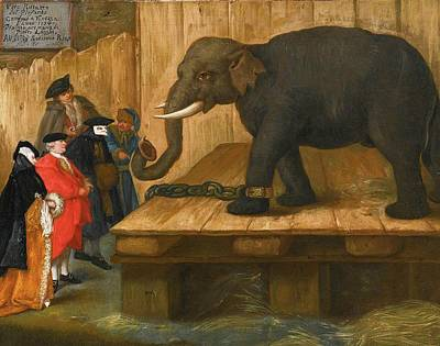Pietro Longhi Painting - The Elephant by MotionAge Designs