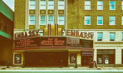 Photograph - The Embassy Theatre by L O C