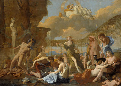 Painting - The Empire Of Flora by Nicolas Poussin