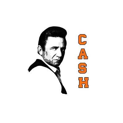 The Fabulous Johnny Cash Art Print