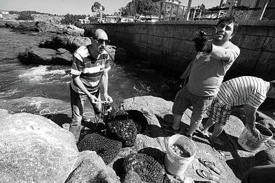 Photograph - The Fishermen by Aidan Moran