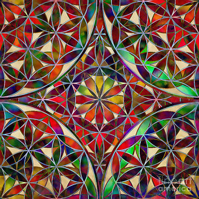 The Flower Of Life Art Print