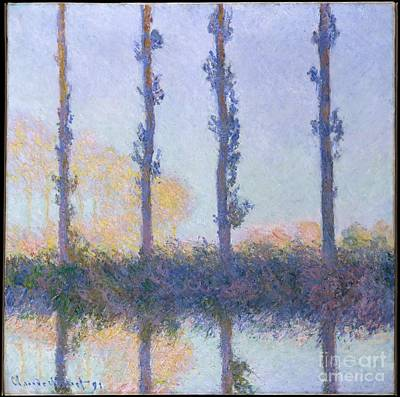 Painting - The Four Trees by Celestial Images