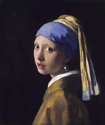 The Girl With A Pearl Earring Art Print by Johannes Vermeer