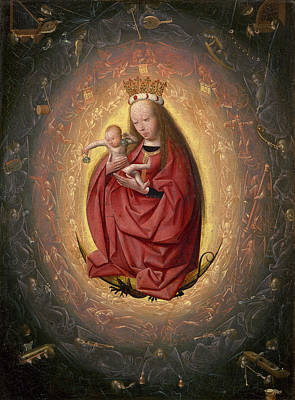 Baby Painting - The Glorification Of The Virgin by Geertgen Tot Sint Jans