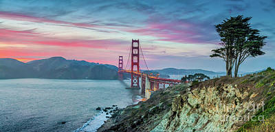 Photograph - The Golden Gate by JR Photography