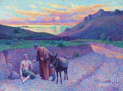 Luce Painting - The Good Samaritan by Pg Reproductions