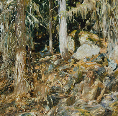 Painting - The Hermit by John Singer Sargent