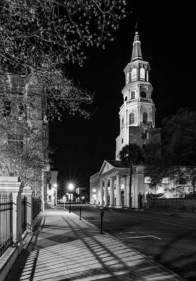 Art Print featuring the photograph St. Michael's Episcopal Church by Carl Amoth
