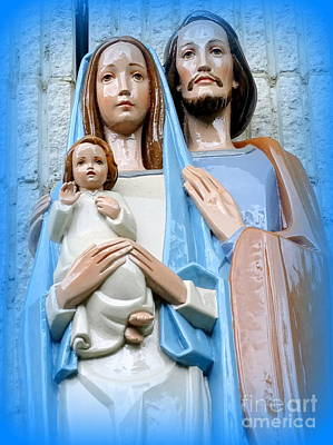 Photograph - The Holy Family by Ed Weidman