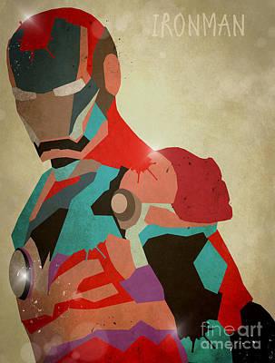 The Ironman Print by Bri B
