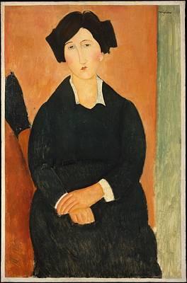The Italian Woman Original by Amedeo Modigliani