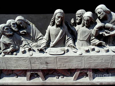 Photograph - The Last Supper by Ed Weidman