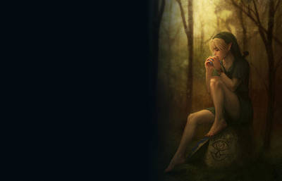 Nude Digital Art - The Legend Of Zelda by Maye Loeser