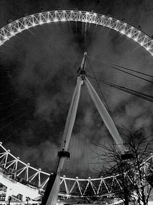Photograph - The London Eye by Doc Braham