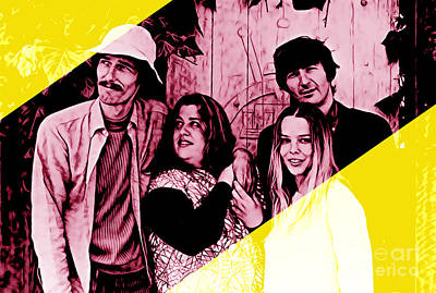 The Mamas And The Papas Collection Art Print