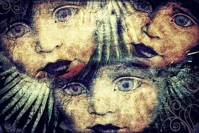 Digital Art - The Missing by Sandra Selle Rodriguez