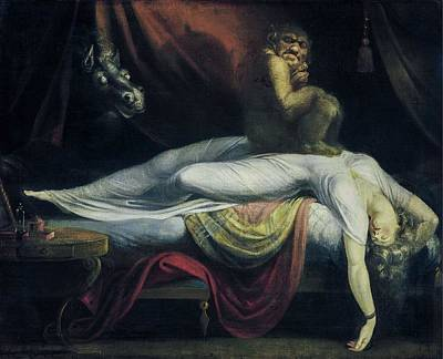 Painting - The Nightmare  by Henry Fuseli