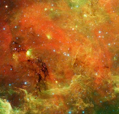 Planets Photograph - The North America Nebula by American School