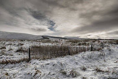 Photograph - The Ochil Hills by Jeremy Lavender Photography