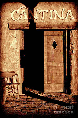 Photograph - The Old Cantina by Paul W Faust - Impressions of Light