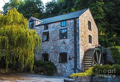 Wales Digital Art - The Old Water Mill by Chris Evans
