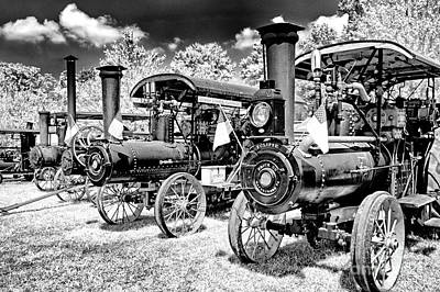 Art Print featuring the photograph The Old Way Of Farming by Paul W Faust - Impressions of Light