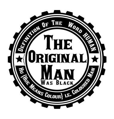 Digital Art - The Original Black Man by FirstTees Motivational Artwork