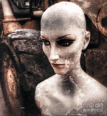 Science Fiction Photograph - The Other World  by Steven Digman